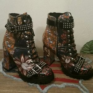 Free People Jeffrey Campbell Lilith boots,7 1/2